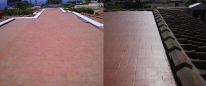 Custom Tile Flat Roof in Dana Point, California