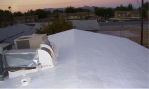 Blythe roof after